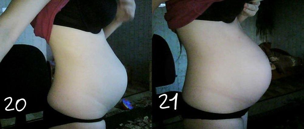 Почему у беременной маленький живот в 20 недель 22
