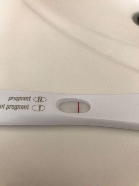 First response test,  27 ДЦ ( 4 дня до предполагаемых М)