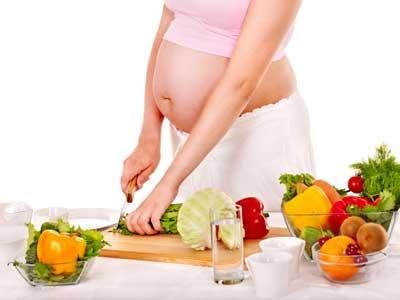 беременные вегетарианки
