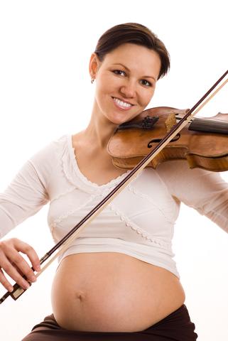 Во время беременности музыка