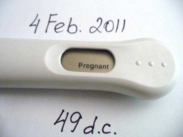 ClearBlue Test, 4 Февраля 2011, 49 Д.Ц.- Неужели правда??? Девочки анализкрови положительный- я беременна100% Спасибо за поддержку и всех с наступающим днём святого Валентина! Всем хочушкам заразный-призаразный АААААПЧЧЧХХХИИИИ!!!!!:))))))))