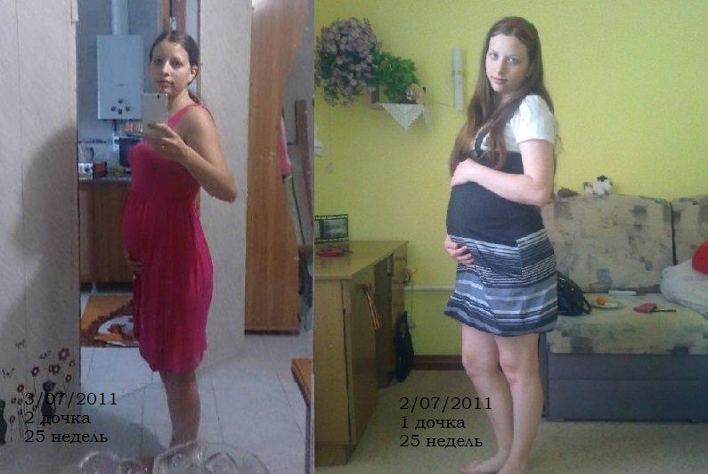 25 недель - большая разница