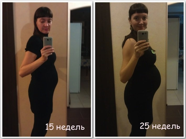 15 и 25 нед