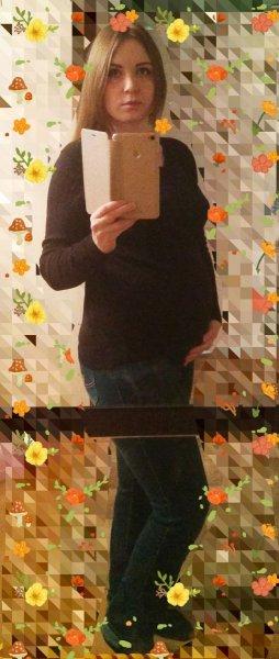 21 неделька младшенькой.