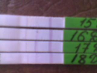 Мои первые тесты на овуляцию.Положительный ли он на 17ДЦ?Не пойму была ли О?!