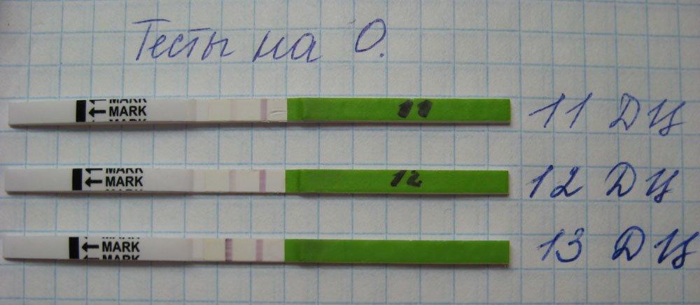 Мои первые тесты на О. в это планирование