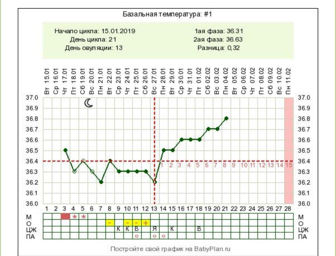 фото графиков базальной температуры черкасов