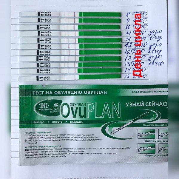 тест на овуляцию ovuplan