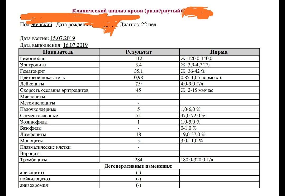 Ly анализ крови развернутый анализ крови при беременности gn