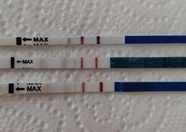 Положительные тесты на беременность